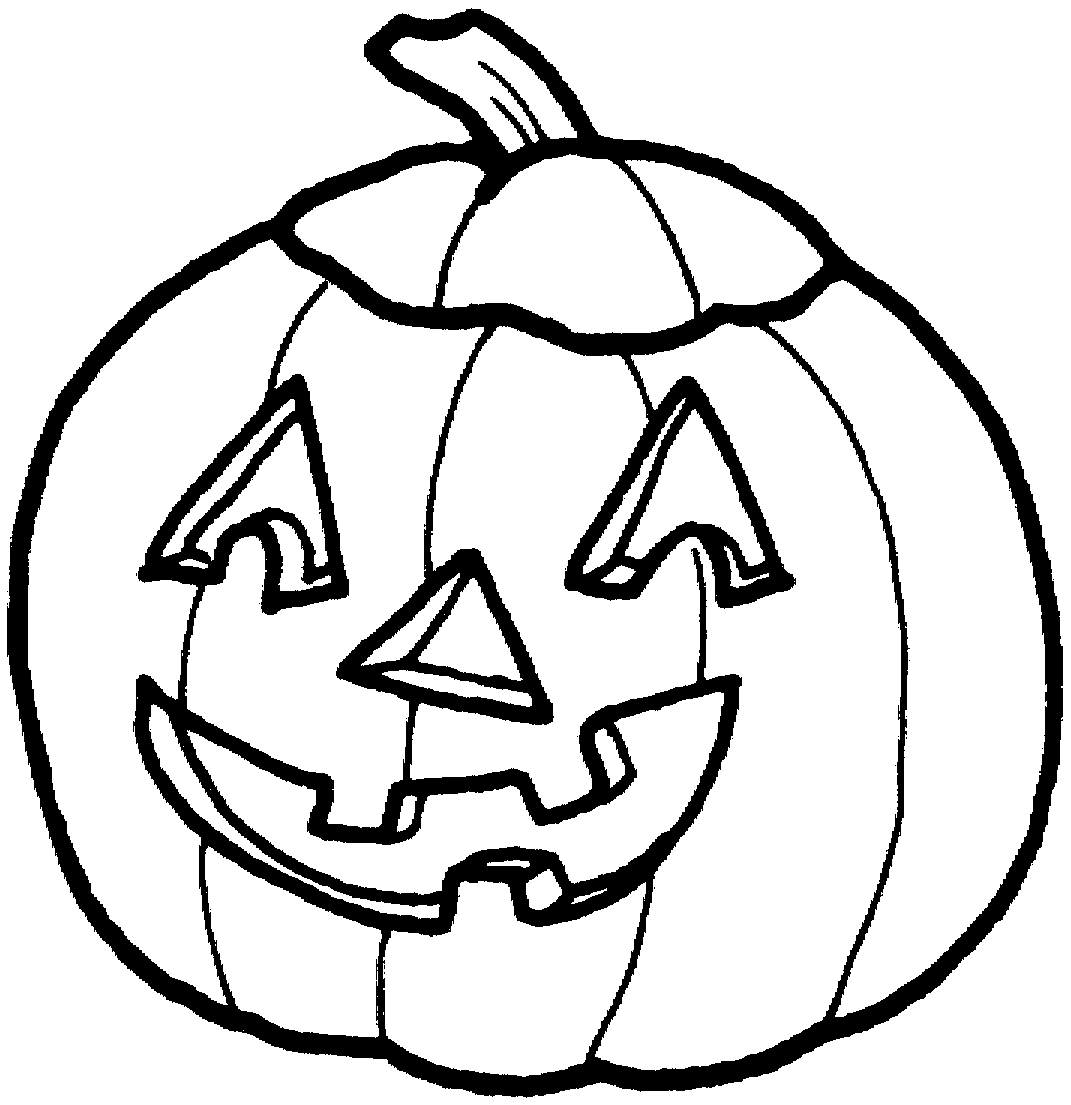 1071x1105 Halloween Pumpkin Clipart Outline