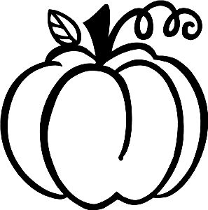 297x300 Pumpkin Outline Cricut Outlines, Cricut