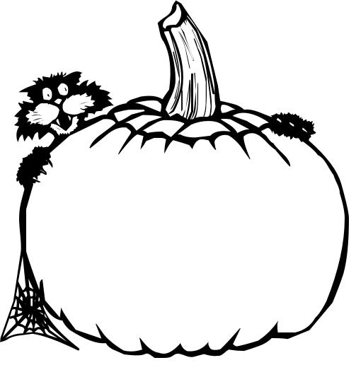 503x516 Pumpkin Clipart Blank