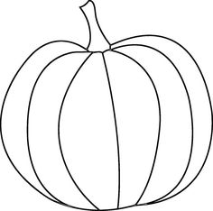 236x234 A Simple Pumpkin Coloring Page In Jpg And Transparent Png Format