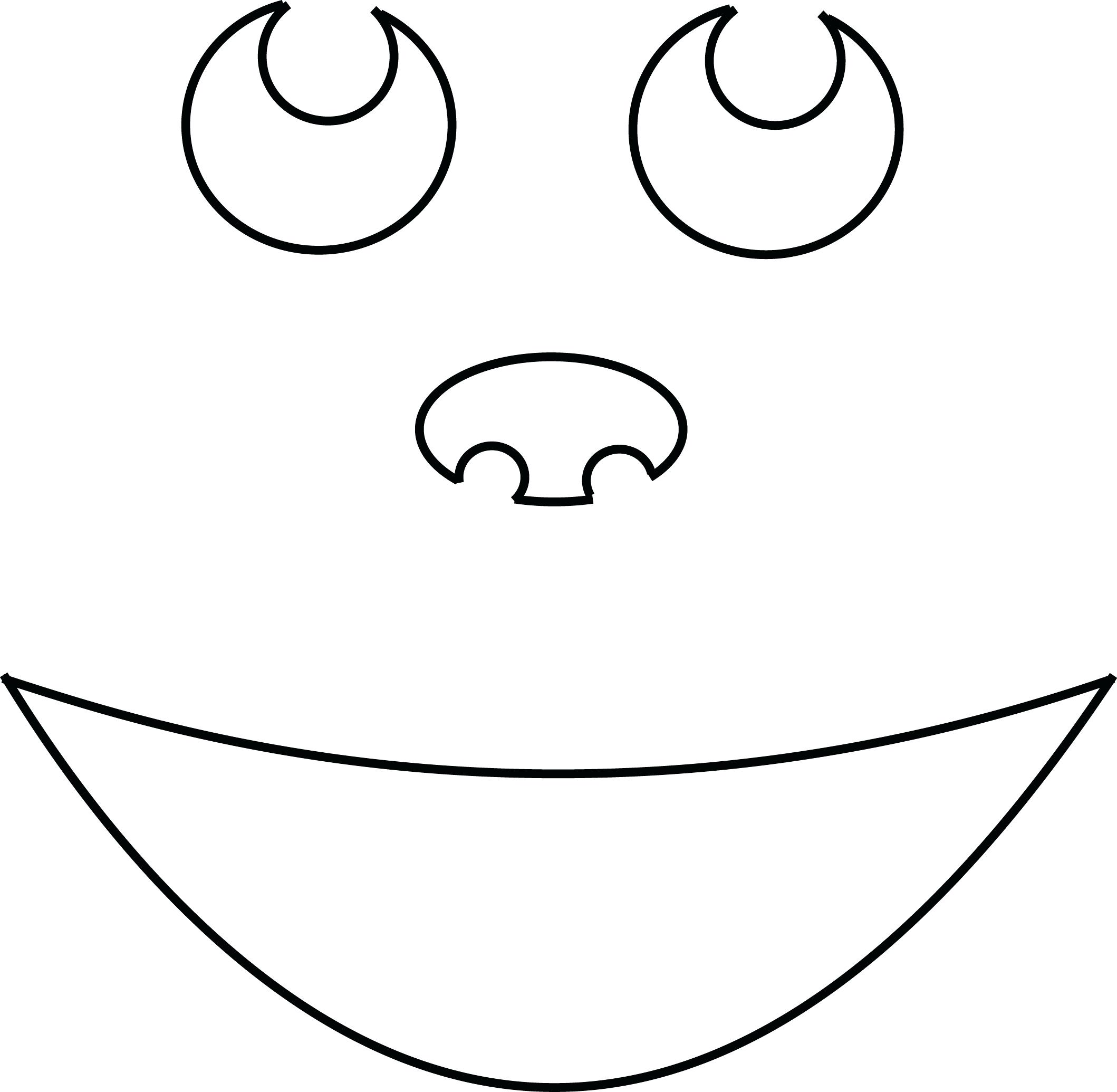 2118x2070 Vector Of A Cartoon Nearly Flat Pumpkin Coloring Page Outline 64