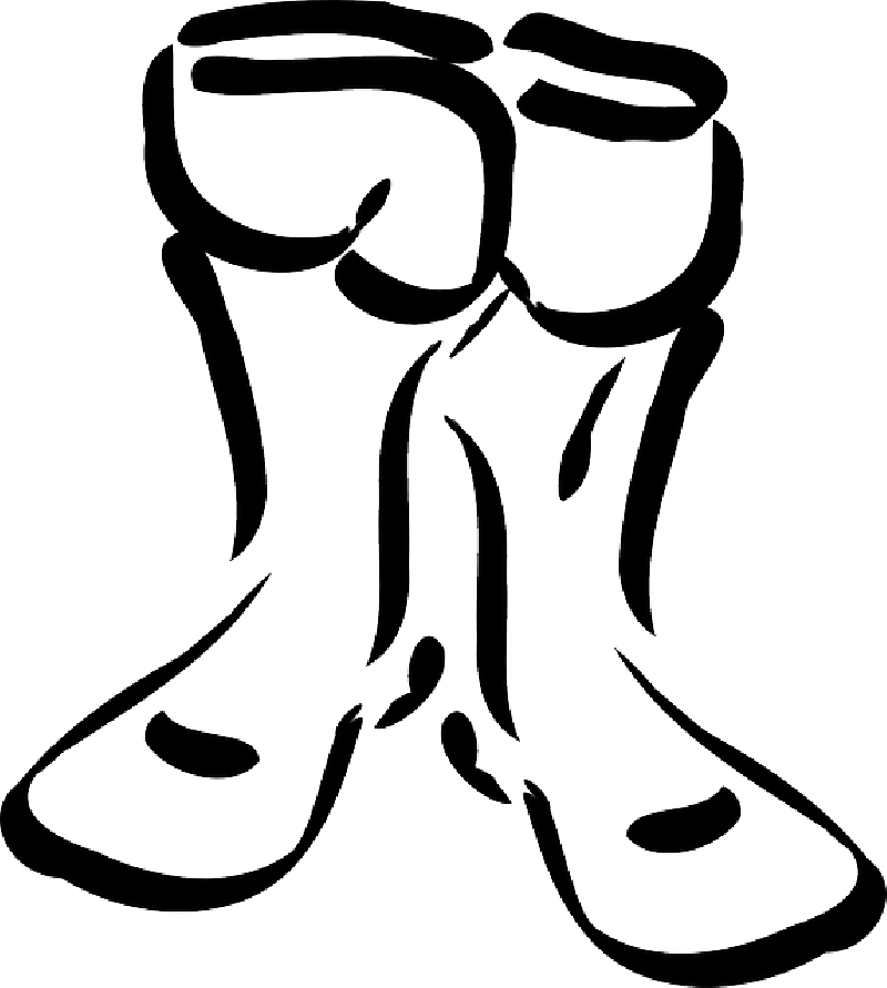 800x891 Outline, Cartoon, Boot, Shoes, Winter, Dress, Cloths