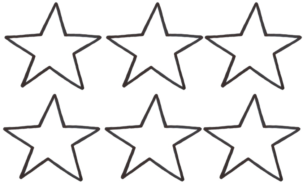 979x597 Star Outline Images Star Of David Outline Free Pictures Clipart