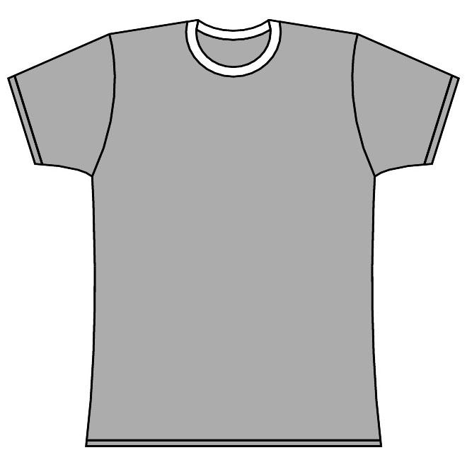 660x660 Short Sleeved Tee Shirt Vector