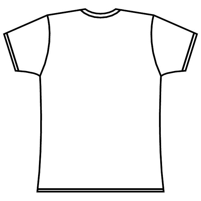 660x660 T Shirt Layout Vector