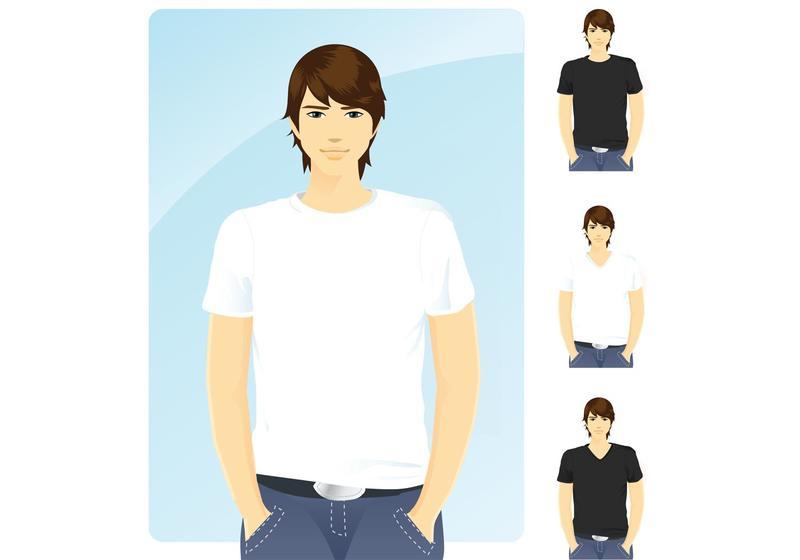 800x560 9,000  T Shirt Templates Free Vector Art