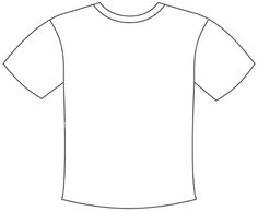 236x193 T Shirt Pattern. Use The Printable Outline For Crafts, Creating