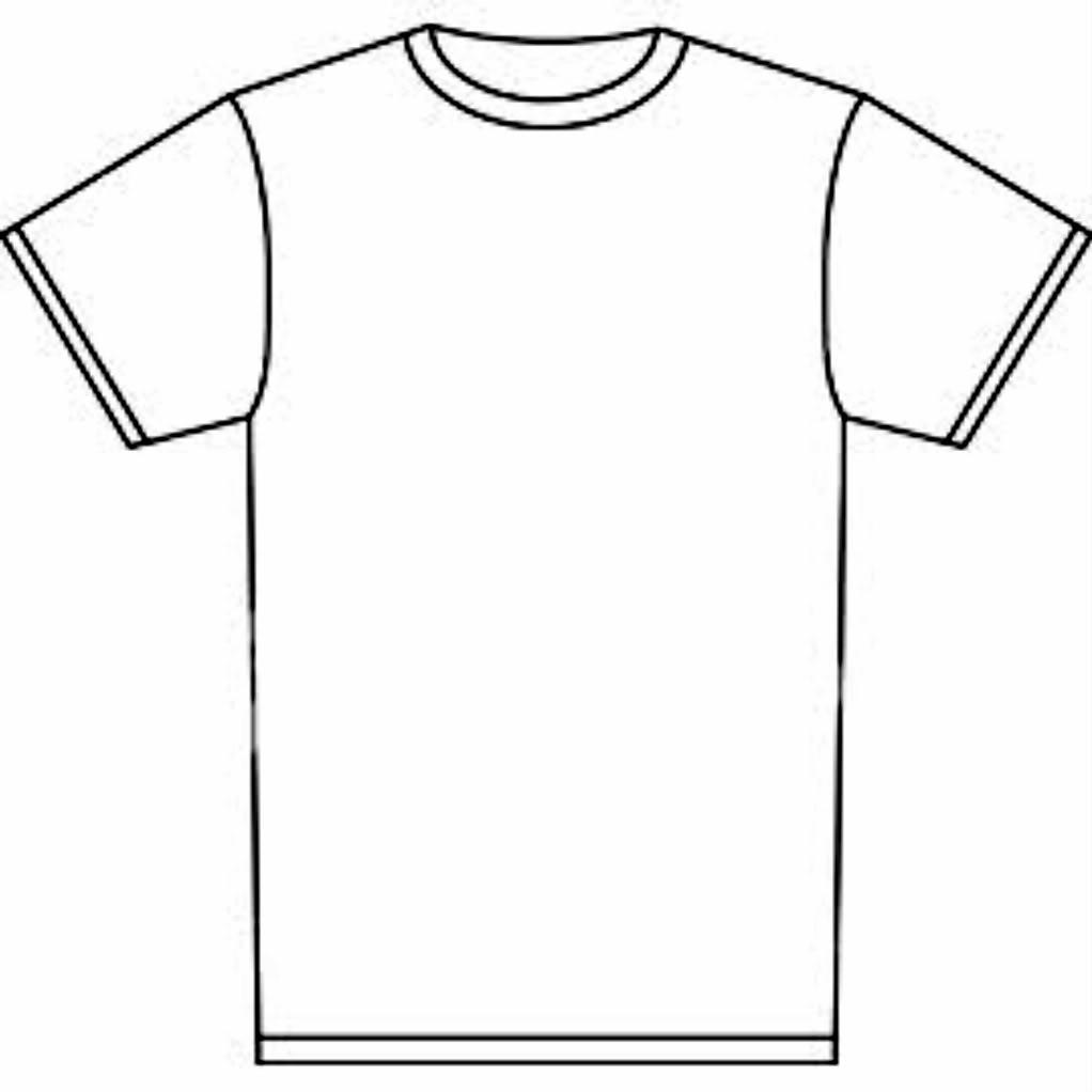1022x1022 T Shirt Shirt Outline Clipart Kid 3