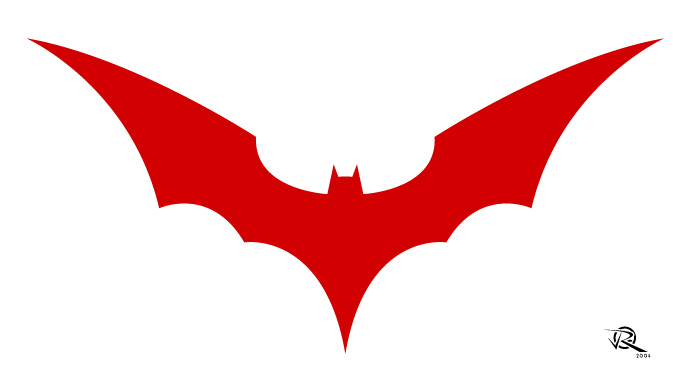 673x369 Batman Logo Outline