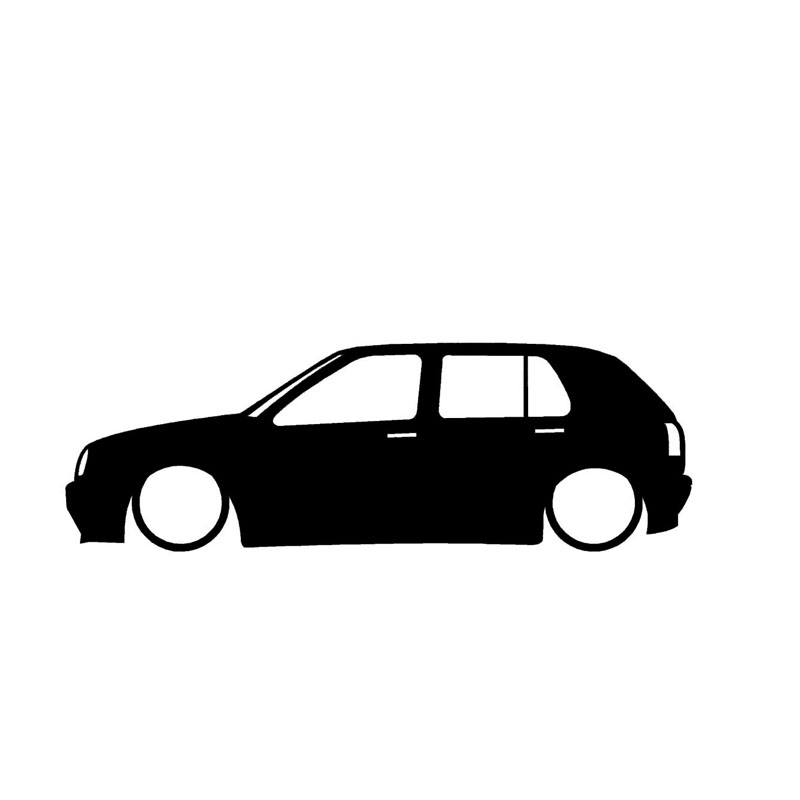 800x800 186 Cm Car Stickers Low Car Outline Stickers Cartoon Fleet Sign