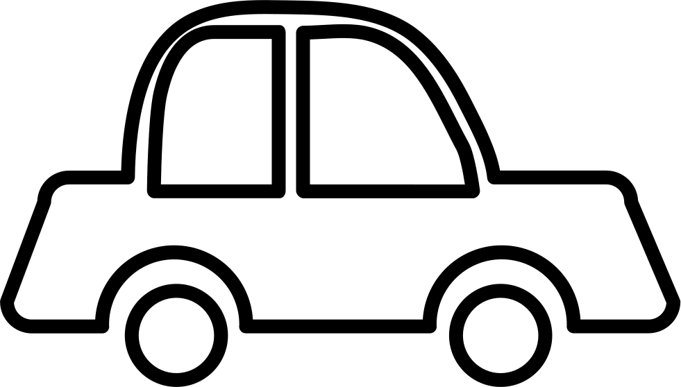 981x558 Car Outline Svg Png Icon Free Download ( 10142)