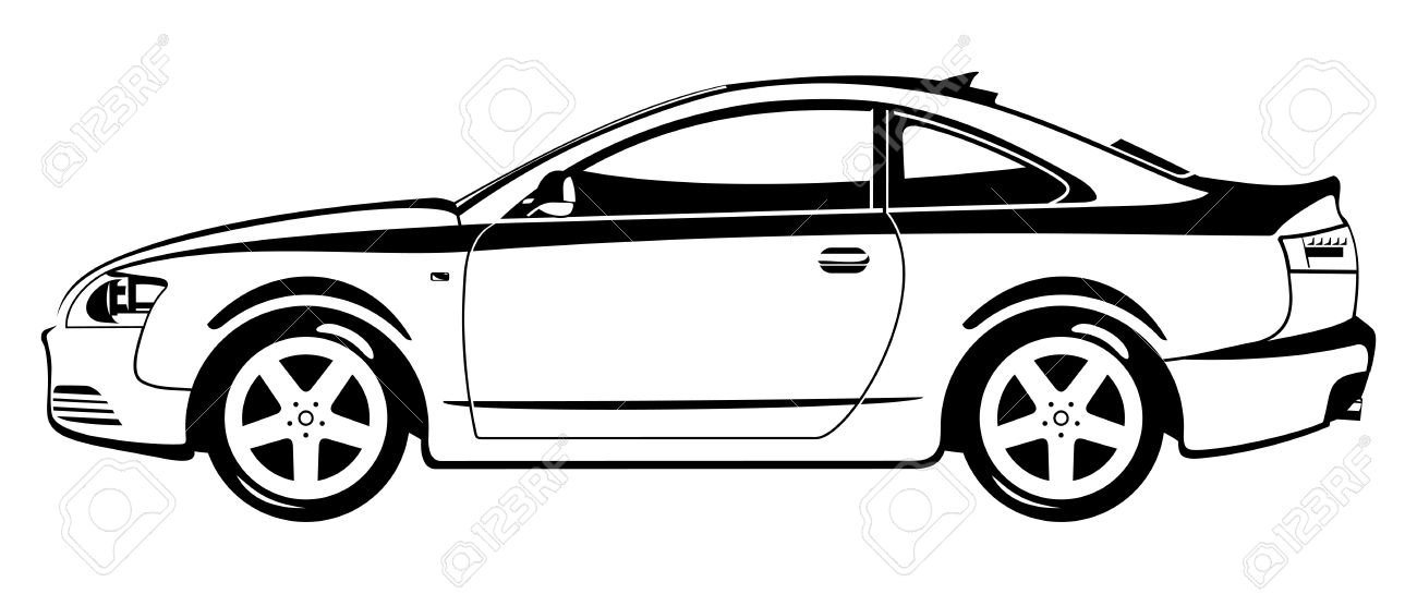 1300x545 Graphics For Car Outline Graphics