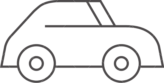 550x280 Outline Icon Electric Car