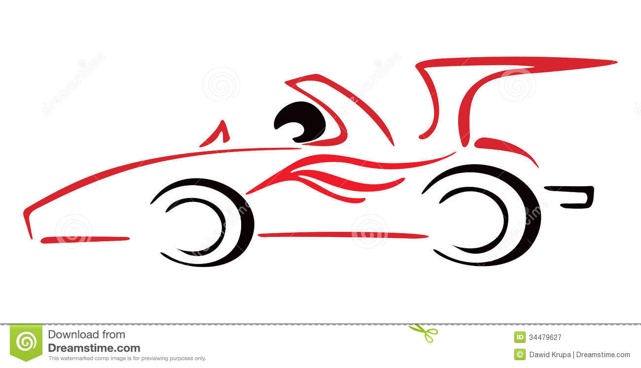 1300x747 Race Car Outline Clipart