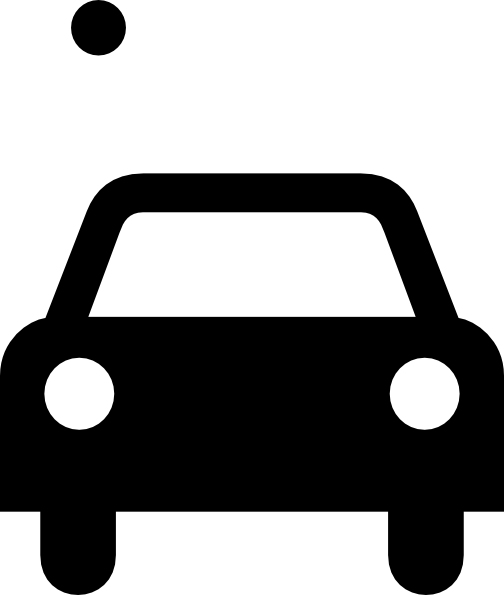 504x595 Simple Black Car Clip Art