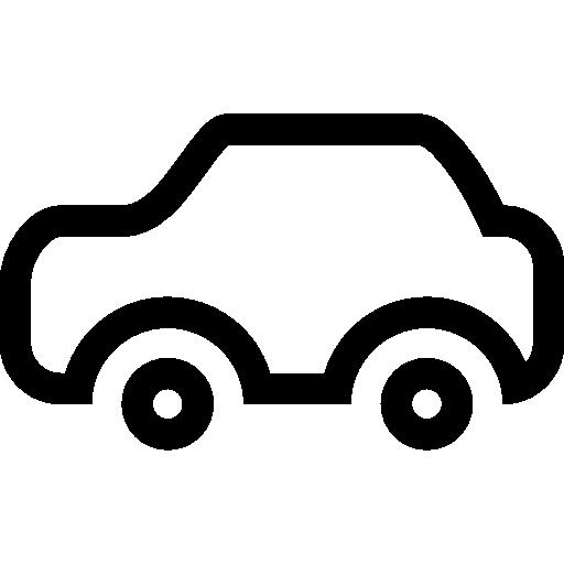 512x512 Transport Car Outline