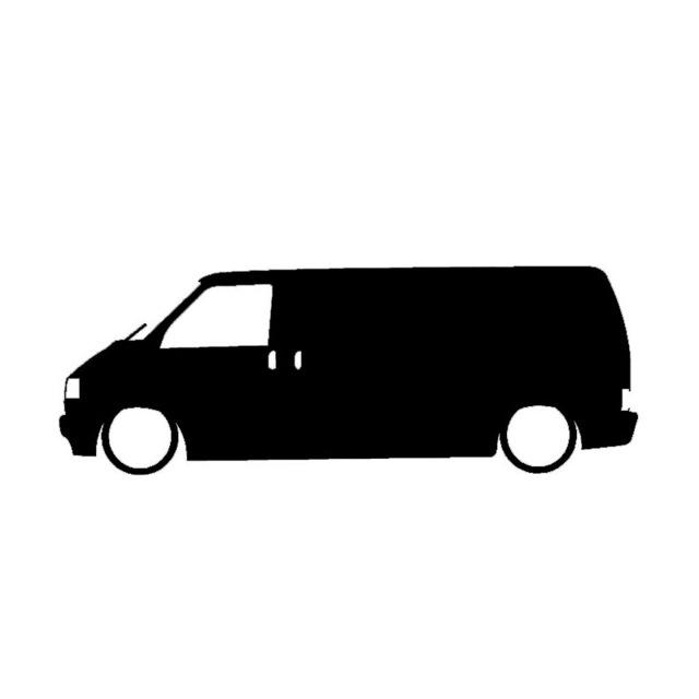 640x640 Wholesale 10 20pcslot Low Vw T4 Transporter Outline Cartoon Car