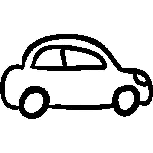 512x512 Transport, Cars, Transportation, Transports, Outline, Hand Drawn