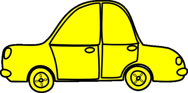 600x299 Car Outline Clip Art