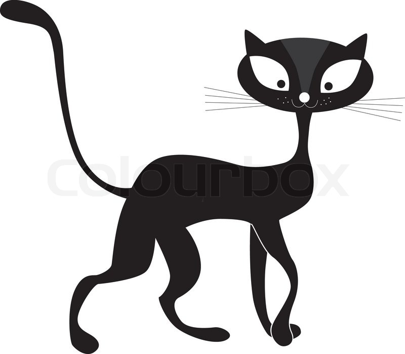 800x699 Animals, Art, Background, Beautiful, Black, Cartoon, Cat, Clip