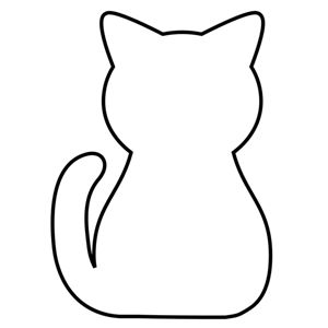 300x300 Best Cat Applique Ideas Cat Template, Cat