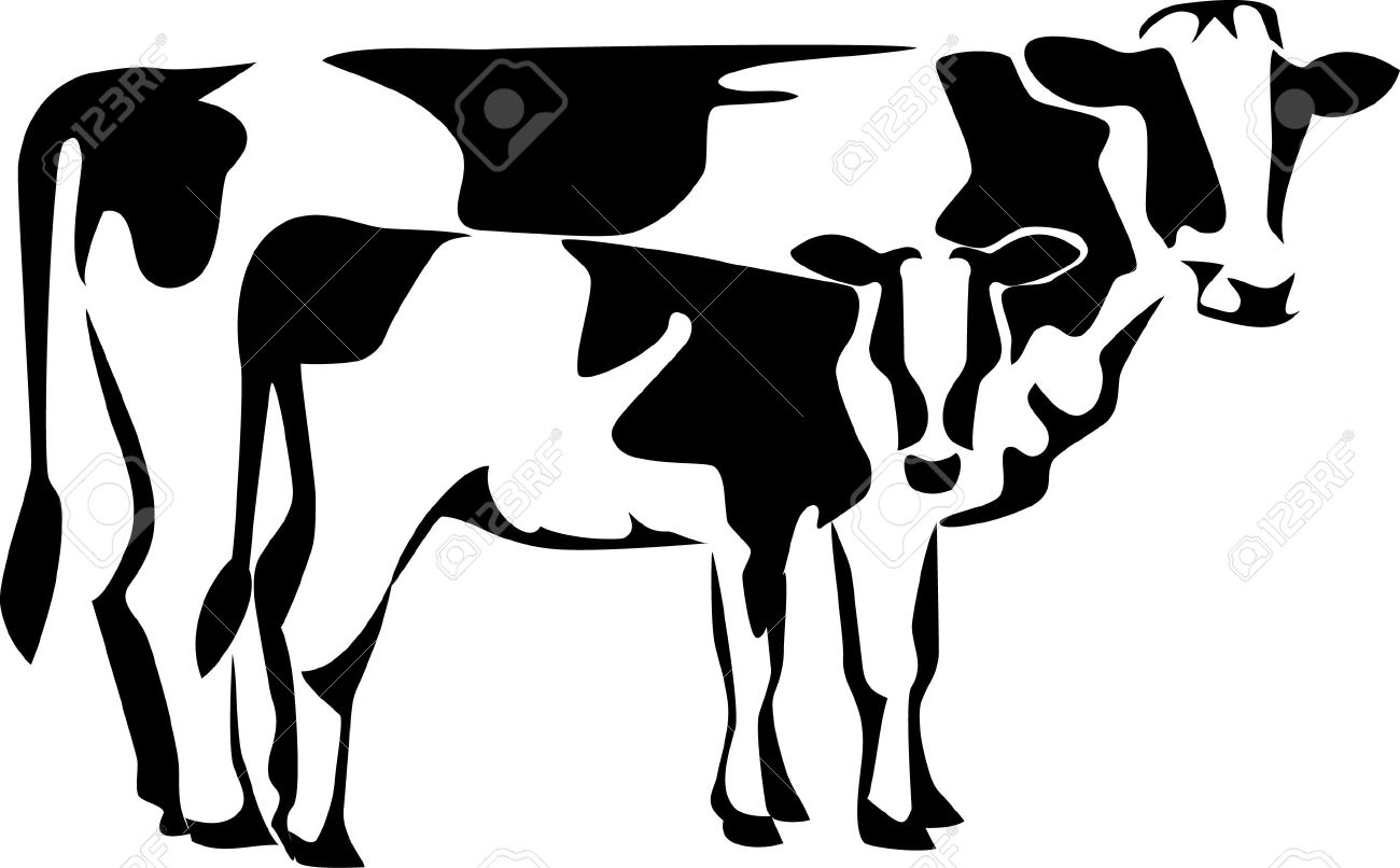 1300x806 Clipart Of Cow And Calf Amp Clip Art Of Cow And Calf Images