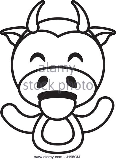 392x540 Cow Animal Toy Outline Vector Stock Photos Amp Cow Animal Toy
