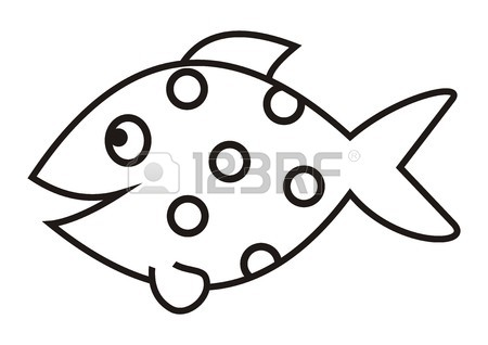 Outline Of Fish