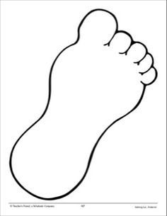 236x305 Big Foot Clipart Footprint Outline