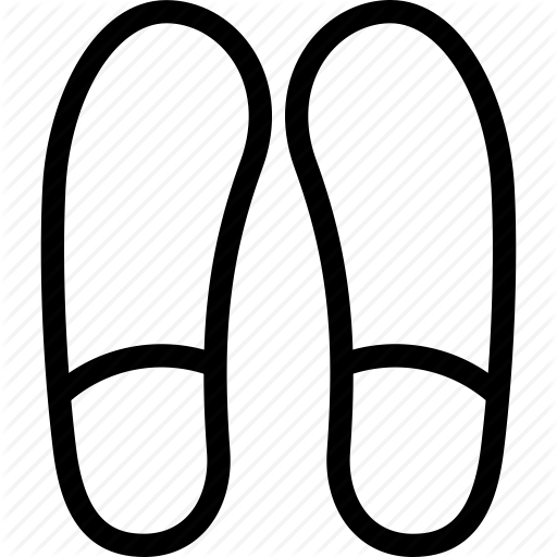 512x512 Creative, Foot, Footprint, Grid, Impression, Line, Print, Shape