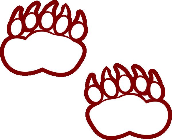 600x488 Footprint Clipart Panda