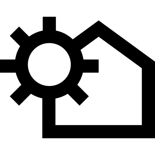 512x512 House Outline, House, Buildings, Home Outline, Home, Housing Icon
