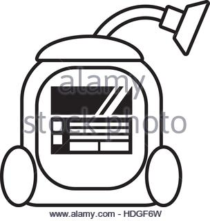 304x320 House Cleaning Icons Set, Outline Style Stock Vector Art