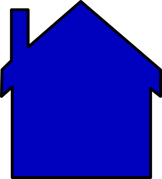 540x598 Best House Outline Clipart