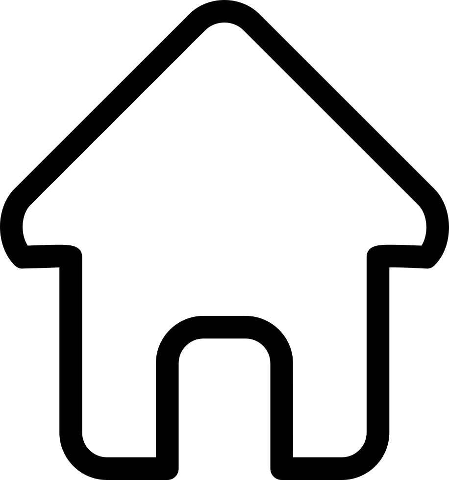 916x980 House Outline Svg Icon Free Download 3 Cliparts