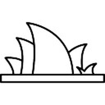 338x338 Sydney Opera House Clipart Sydney Opera House Drawing Outline