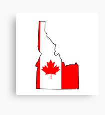 210x230 Idaho Outline Canvas Prints Redbubble