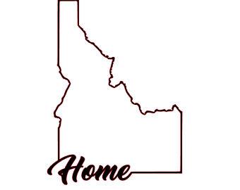 340x270 Idaho Outline Etsy