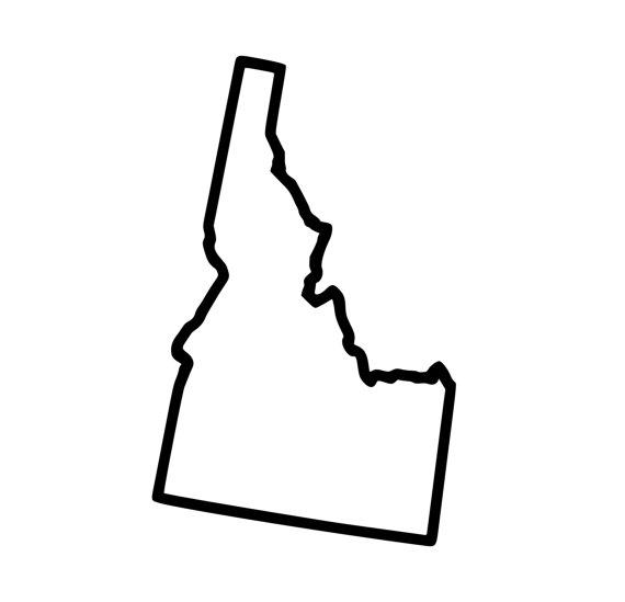 570x549 Image Gallery Idaho Outline Tattoos