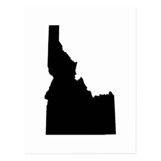 324x324 Outline Of Idaho Postcards Zazzle