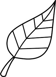 191x264 Black And White Leaf Outline Leaf Clip Art Black And White