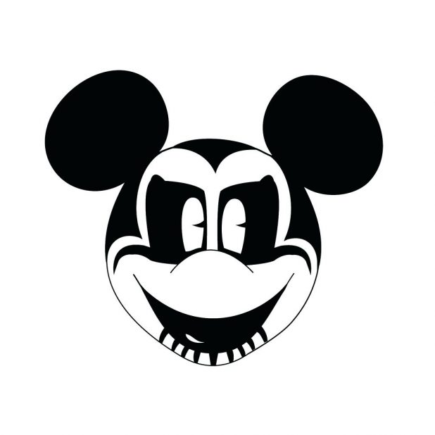 large mickey mouse head template - outline of mickey mouse free download best outline of