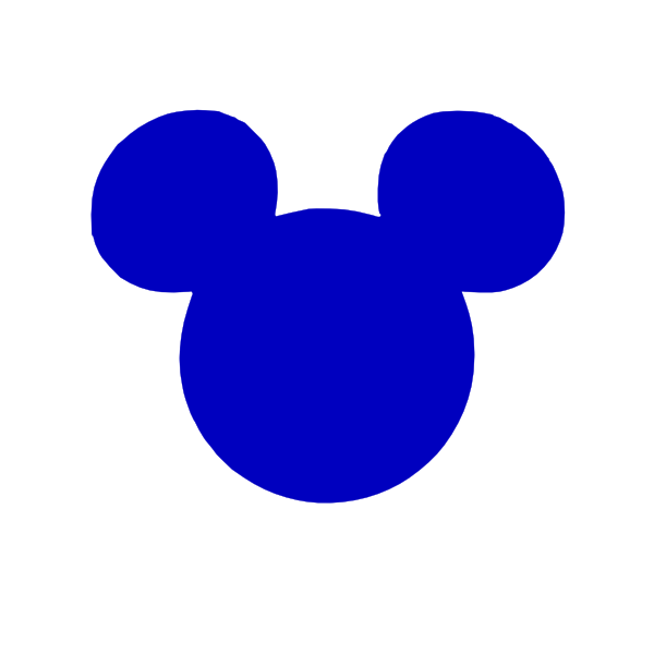 600x600 Graphics For Mickey Mouse Outline Vector Graphics Www