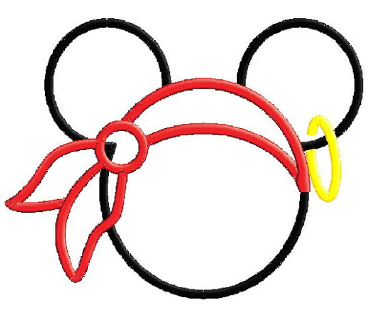 800x661 Mickey Applique Designs Pirate Mickey Mouse Outline Applique