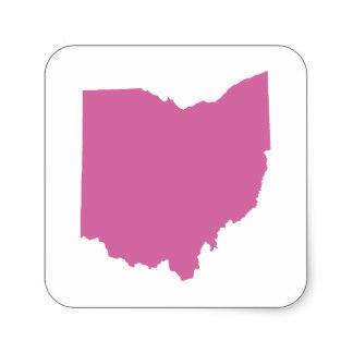 324x324 Ohio Outline Stickers Zazzle