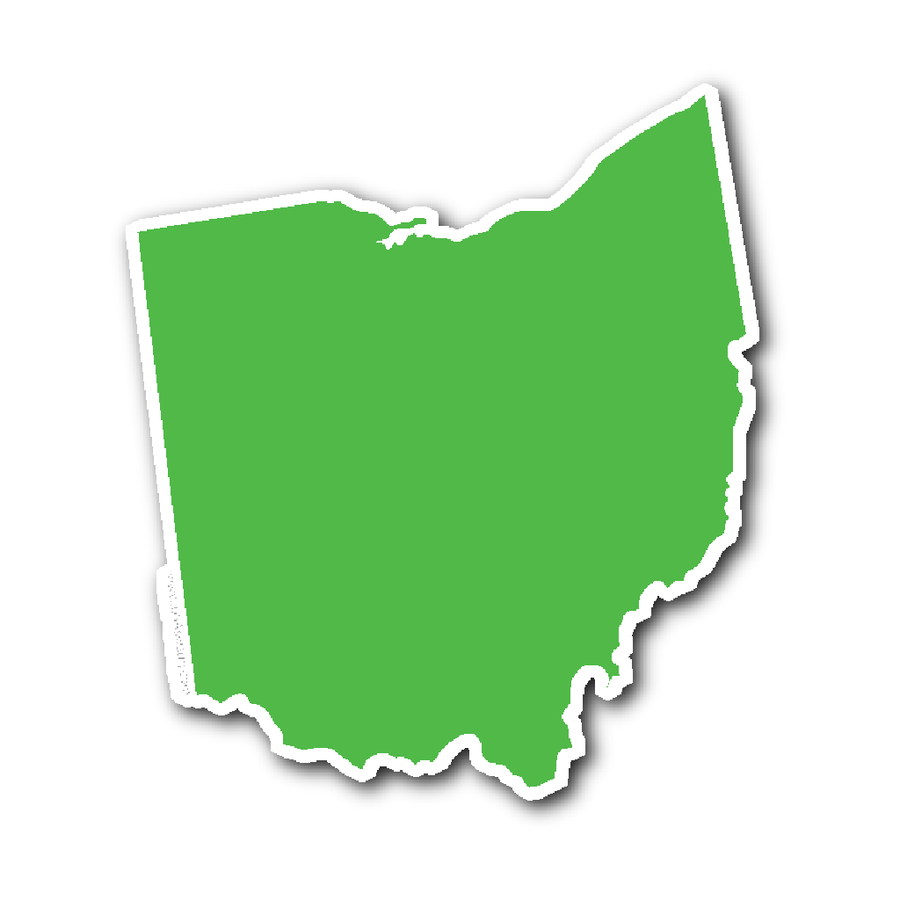 900x900 Ohio Stickers