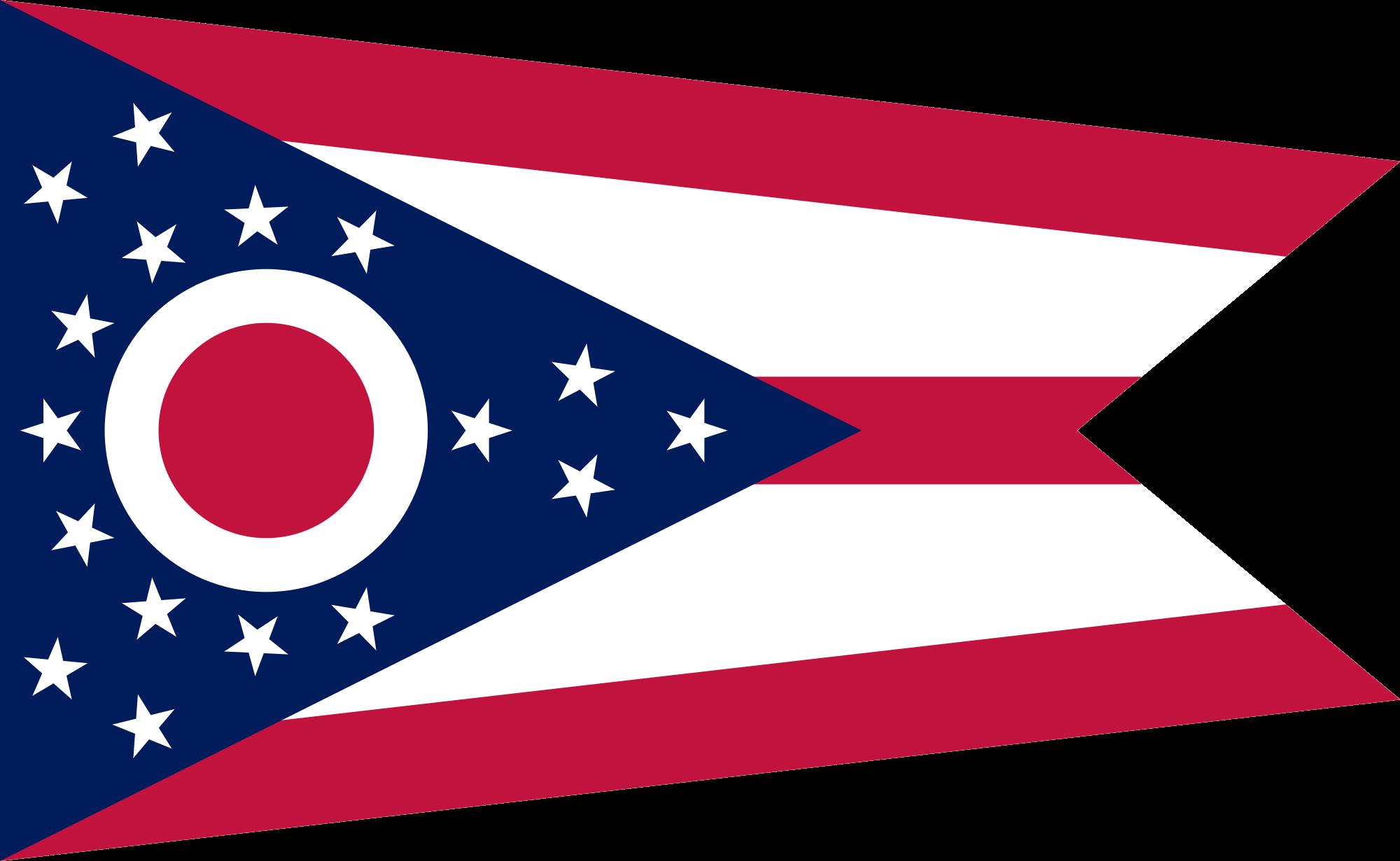 2000x1231 Outline Of Ohio