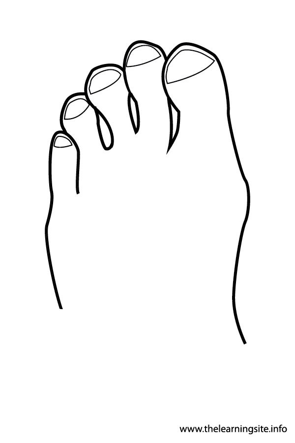 600x900 Person Outline Coloring Page