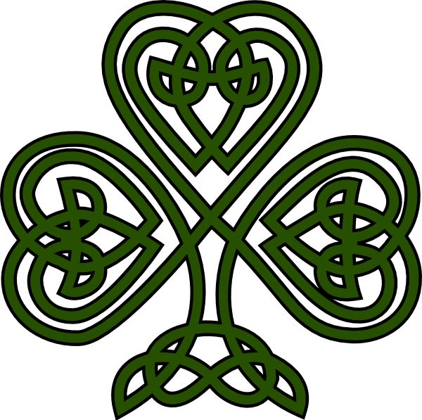 600x597 Best Celtic Shamrock Ideas Celtic Designs