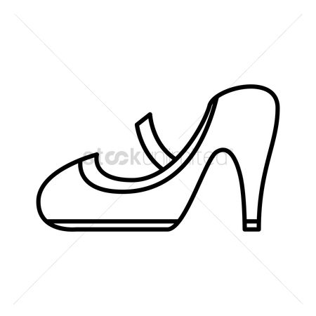 outline of shoe  free download on clipartmag